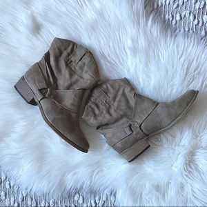 Never Worn Tan Short Boots